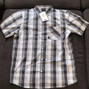 Oakley Button Down Short Sleeve Shirt